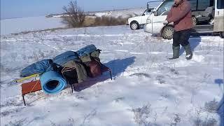 Санки для зимней рыбалки сделать своими руками