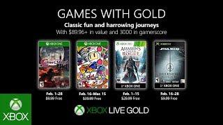 Games With Gold di febbraio