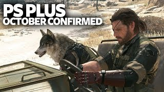PlayStation Plus (PS+) October 2017 - Confirmed PS4 PS Plus October Games
