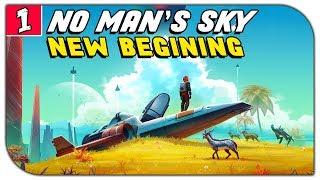 FRESH START - Let's Play No Man's Sky Part 1: Atlas Rises Update 1.3 Playthrough
