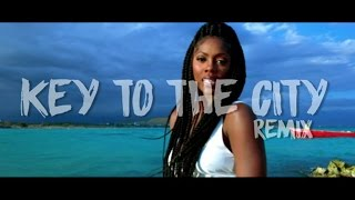 Tiwa Savage Ft Busy Signal  Key To The City Remix  Official Music Video