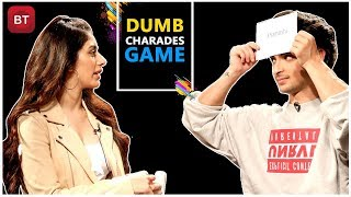 Loveyatri Movie Team Aayush Sharma & Warina Hussain Played Action-Packed Dumb Charades Round