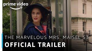 Official Trailer - The Marvelous Mrs. Maisel Season 3 | Rachel Brosnahan | Amazon Prime Video