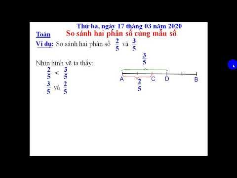 Bài giảng so sánh 2 phân số Toán 4