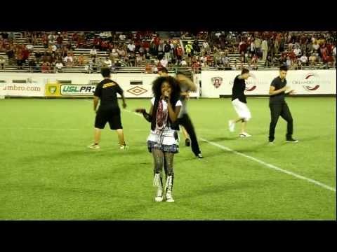 Azriel Clary Originals @ Citrus Bowl 2011 Orlando Soccer Championship!!! & local dance crew