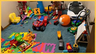 COMPLETE BEDROOM MAKEOVER   SMALL TOY ROOM TRANSFORMATION