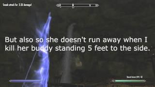 An Example of Skyrim's Auto Aim
