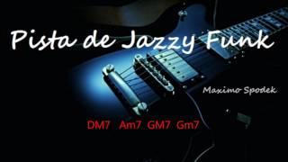 PISTA DE JAZZY FUNK EN DM PARA IMPROVISAR EN GUITARRA, SAXO, PIANO, PERCUSION, ETC