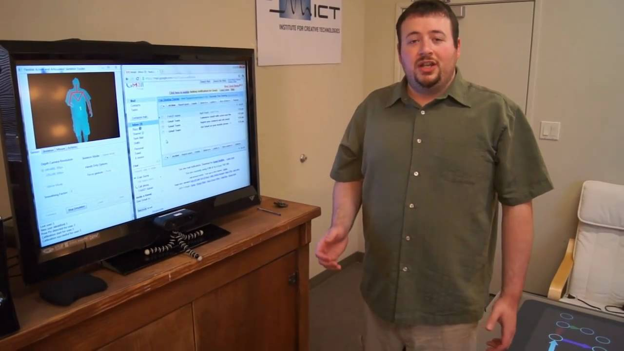 Oh, Turns Out You CAN Run Gmail Using Kinect
