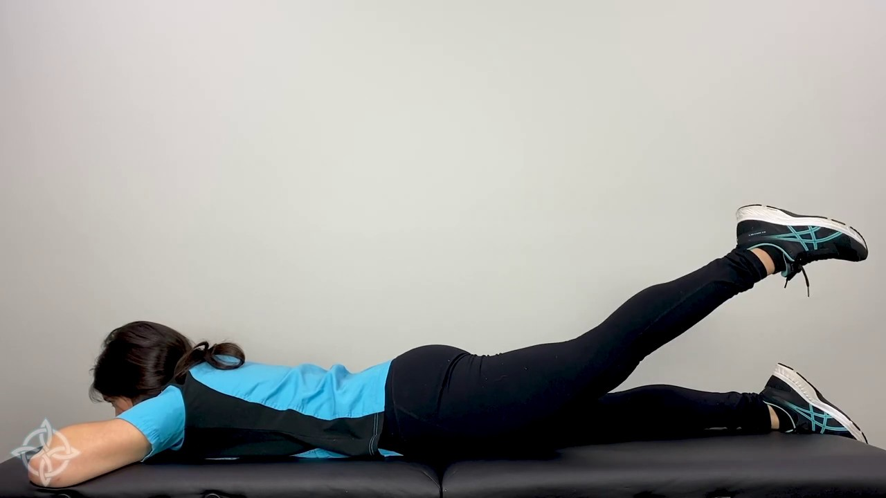 Photo of Prone Hip Extension