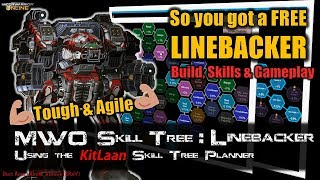 [BRxV] MWO Skills  Build for your Free Linebacker Prime