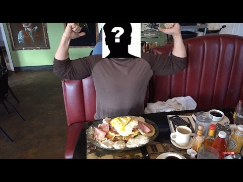 FwF Ep. 7 Randy Santel ? Big Breakfast Challenge x 3 Food Challenge!!!