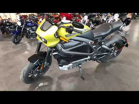 2020 Harley-Davidson Electric LiveWire ELW