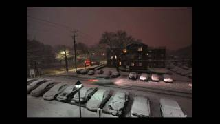 Time Lapse of Blizzard Hitting East Coast