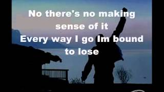 Queen, Too Much Love Will Kill You, Onscreen Lyrics 360p