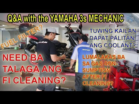 (PART 1) NMAX MAINTENANCE - Q&A with Yamaha Mechanic - FI Scooter - NMAX Diary Ep6