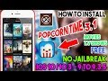 New Install PopCorn Time 3.1 Movies/T.V Shows Free  iOS 10/9 On iPhone/iPod/iPad