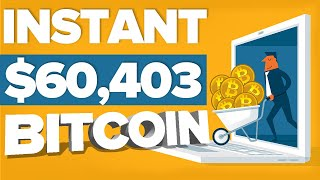 Earn INSTANT Bitcoin Per Day ($60,403.75) | Earn 1 BTC In 1 Day