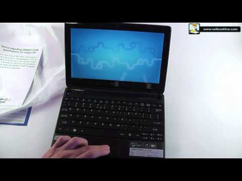Acer Aspire One D257 with Meego - unboxing and preview