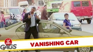 Just For Laughs Gags Disappearing Car