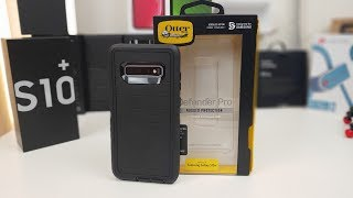 Samsung Galaxy S10 Plus- Otterbox Defender Pro Case