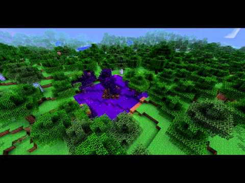 Minecraft Timelapse: Thaumcraft Tainted Vis Formation
