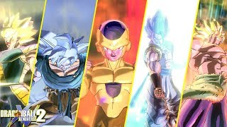 DBXV2 : Dragon Ball Super Broly Movie Characters Transformation Compilation! w/Mods