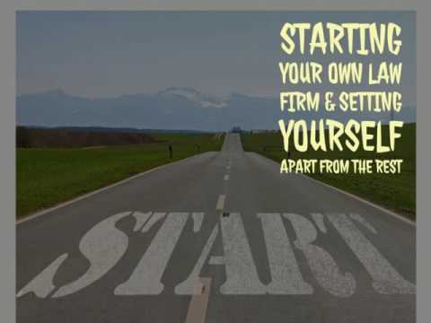 , title : 'Starting Your Own Law Firm & Setting Yourself Apart From The Rest