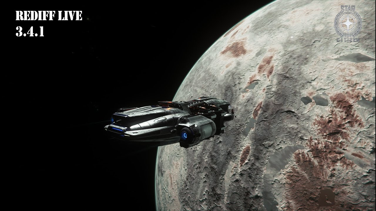 REDIFF LIVE - STAR CITIZEN 3.4.1 - Minage et paysages, en mode farm d'UEC