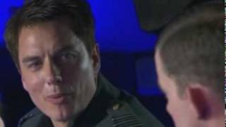 Jack Harkness and Alonzo meeting
