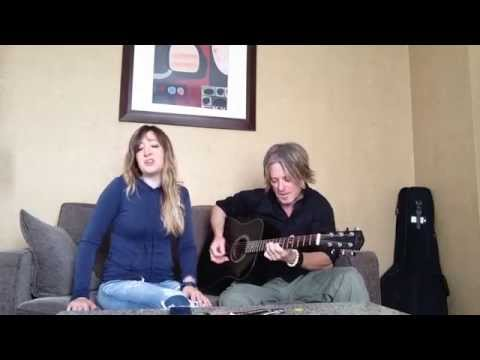 """""""Rhiannon"""" by Fleetwood Mac with the hubs on guitar."""