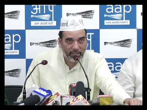 AAP Delhi Convenor Gopal Rai Introduces SC Wing and Minority Wing
