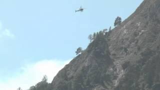 preview picture of video 'Hubschraubereinsatz Seilbergung Untersberg 2014'