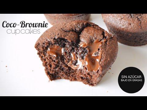 Cómo Preparar Cupcakes Saludables De Chocolate Con Chispas