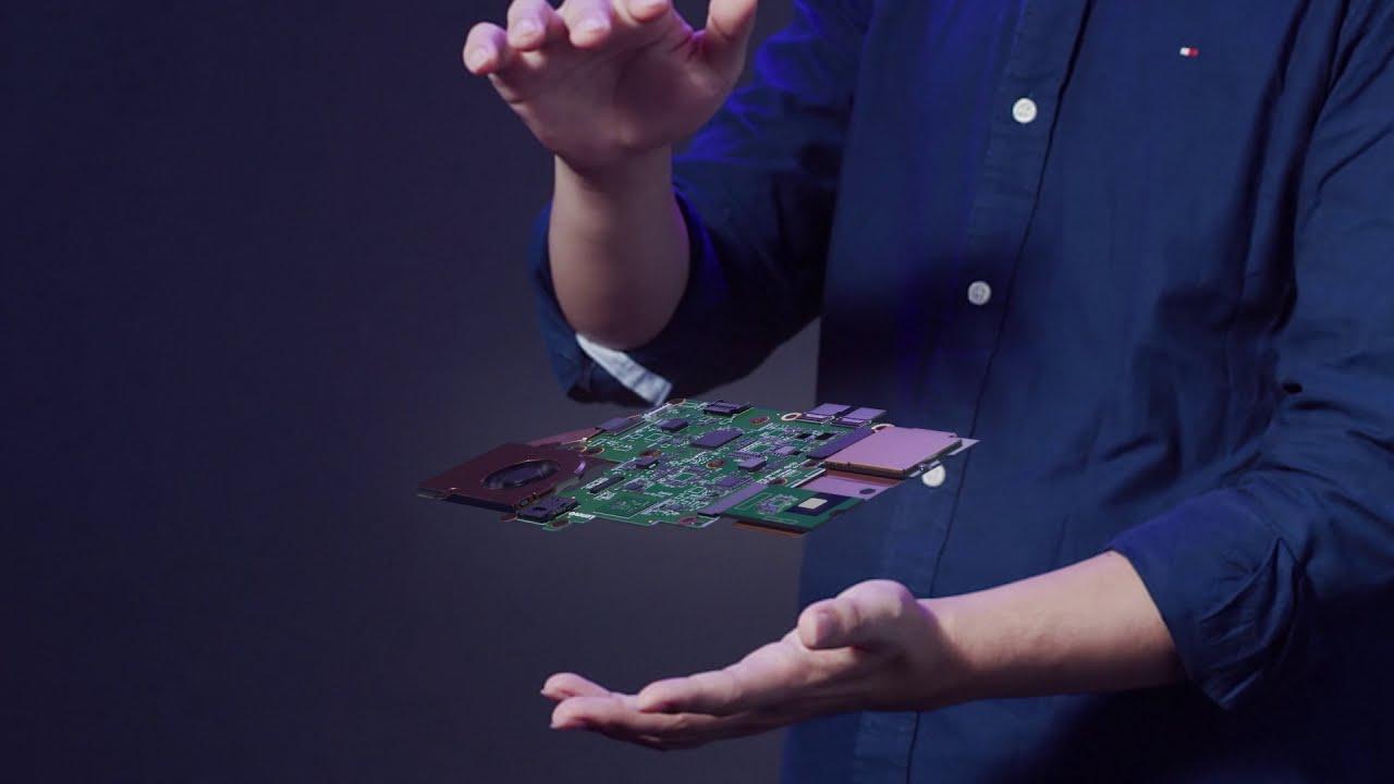 YouTube video thumbnail for ThinkPad X1 Fold Story Main Tour