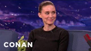 """Rooney Mara Wore A Merkin In """"The Girl With The Dragon Tattoo"""" - CONAN on TBS"""