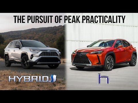 2021 Toyota RAV4 Hybrid vs Lexus UX Hybrid - Peak Practicality, Efficiency, And Reliability