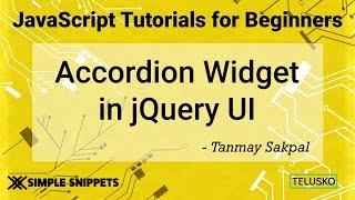 Accordion Widget Control in JQuery UI