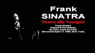 Frank Sinatra - Teach Me Tonight (Reprise® Recordings 1984).mp4