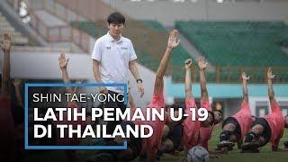 Shin Tae-yong Latih Pemain Timnas di Thailand untuk Persiapan Piala Dunia U-20