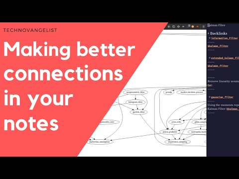 Making Connections in your Notes