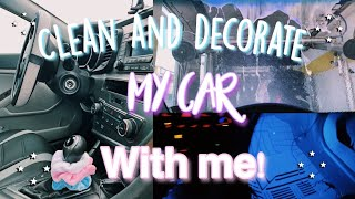 DECORATE MY NEW CAR WITH ME + Car Accessories Haul 2020