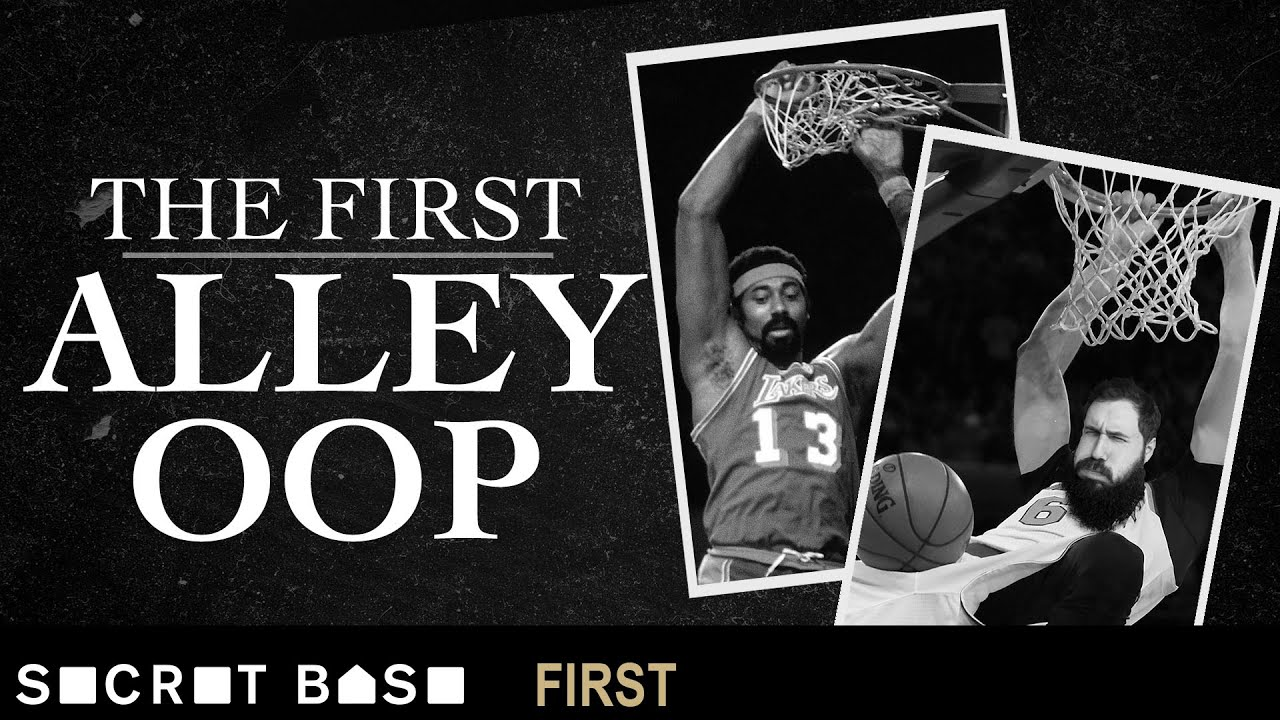 Dunking was illegal when the alley oop was born | 1st thumbnail