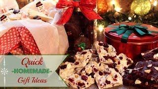 Quick Homemade Gift Ideas
