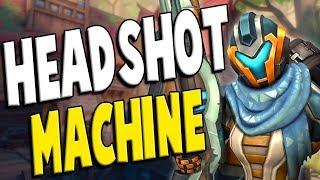 Paladins: Ranked Kinessa - HEADSHOT MACHINE!