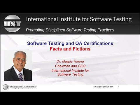 Software Testing Certifications and QA Certifications
