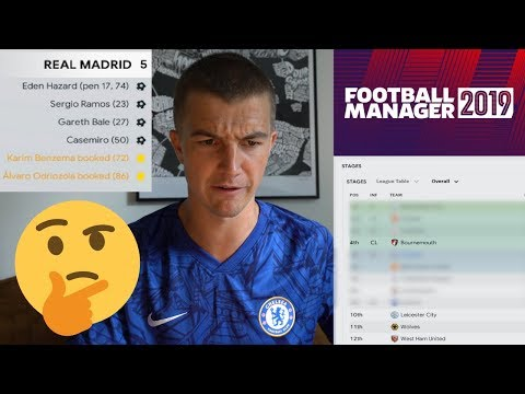 SIMULATING Lampard's First Season On FOOTBALL MANAGER 2019