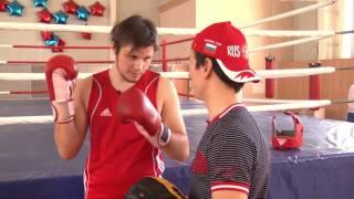 Уроки Бокса. Как правильно боксировать? Уфа.Попытка не пытка 05  БОКС