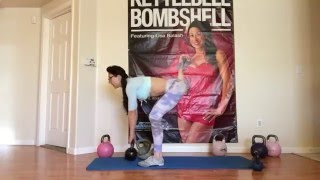 Kettlebell Bombshell Booty Lifting Workout by Lisa Balash