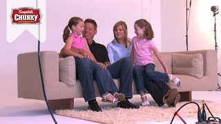 Campbells Chunky sits down with Troy Aikman and Leslie Bonci